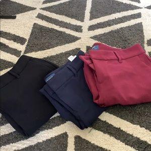 Harper mid rise pants bundle